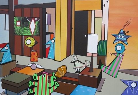 Obraz do salonu artysty Marcin Błach pod tytułem Dry Grass