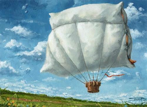 Obraz do salonu artysty Robert Konrad pod tytułem Dream of a dream