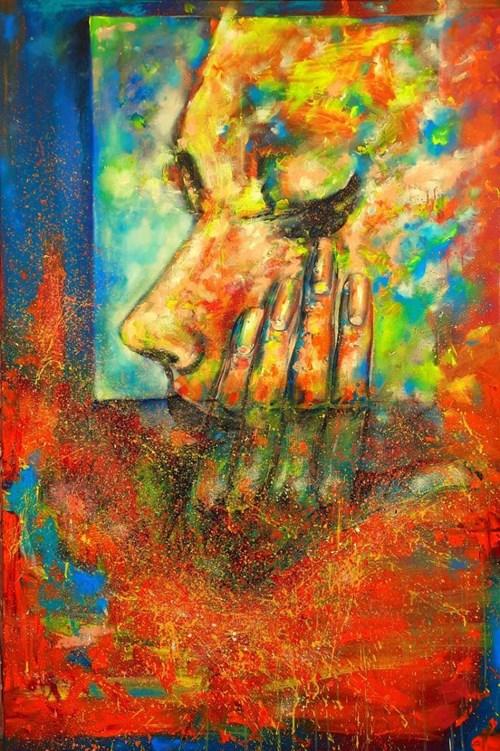 Obraz do salonu artysty Łukasz Jankiewicz pod tytułem I'm Just a Dreamer