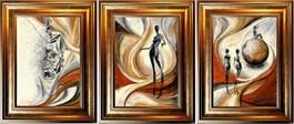Living room painting by J. Aurelia Sikiewicz-Wojtaszek titled Arcadia