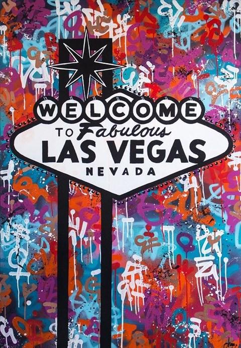 Obraz do salonu artysty Monika Mrowiec pod tytułem Viva Las Vegas