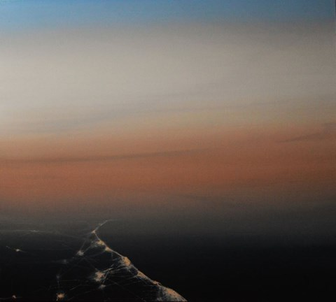 Obraz do salonu artysty Urszula Kałmykow pod tytułem Lądowanie o świcie