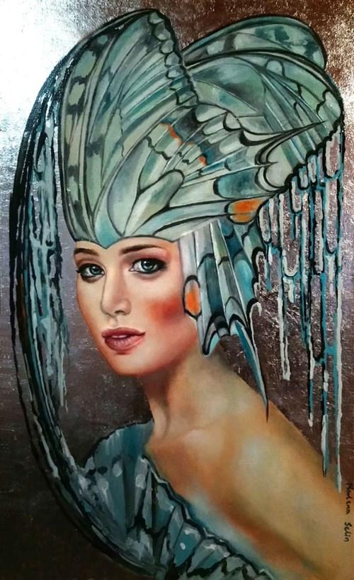Obraz do salonu artysty Marlena Selin pod tytułem Blue