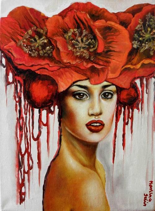 Obraz do salonu artysty Marlena Selin pod tytułem Zauroczenie