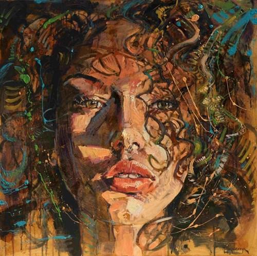Obraz do salonu artysty Marcin Mikołajczak pod tytułem Portret 5