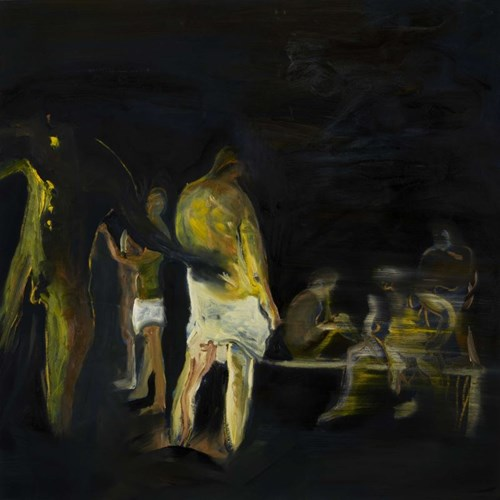 Obraz do salonu artysty Piotr Szwabe pod tytułem The Mystery of the Sadnesss