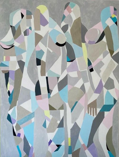 Obraz do salonu artysty Urszula Teperek pod tytułem Kobiety no 23