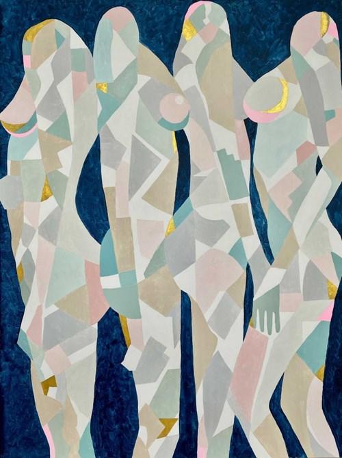 Obraz do salonu artysty Urszula Teperek pod tytułem Kobiety no 25