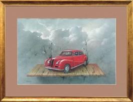 Obraz do salonu artysty Dorota Zych-Charaziak pod tytułem Bez tytułu