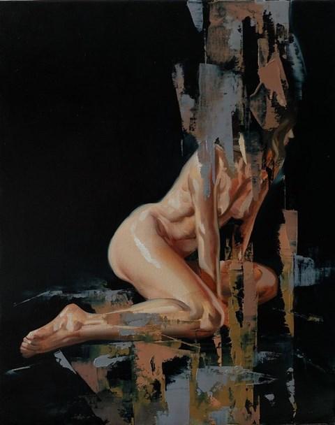 Obraz do salonu artysty Jan Szczepkowski pod tytułem Asleep II