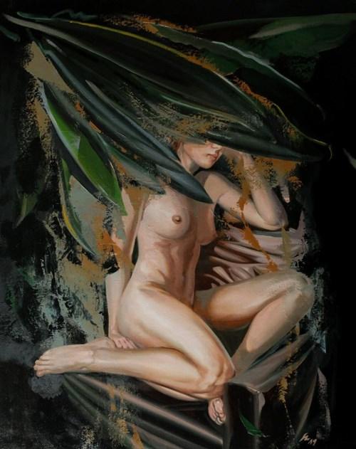 Obraz do salonu artysty Jan Szczepkowski pod tytułem Edge of the Night XIV