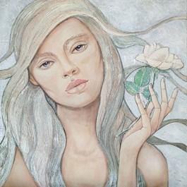 Obraz do salonu artysty Joanna Misztal pod tytułem Szron