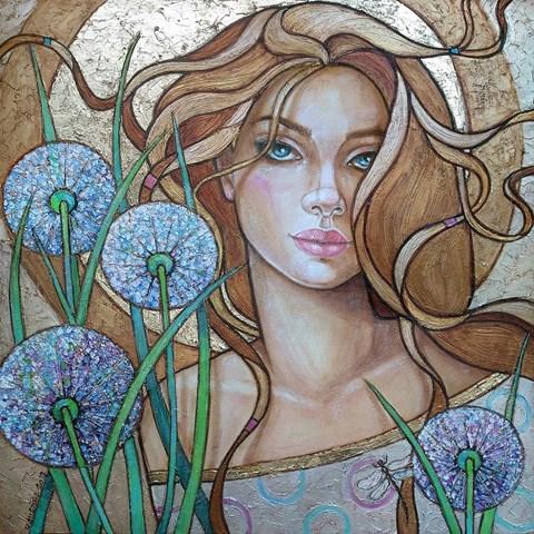 Obraz do salonu artysty Joanna Misztal pod tytułem Ulotność