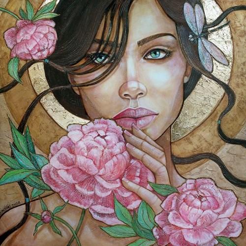 Obraz do salonu artysty Joanna Misztal pod tytułem Piwonie