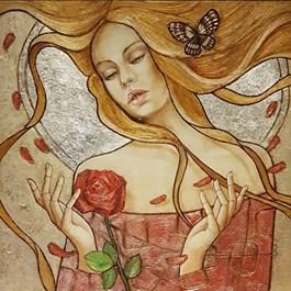 Obraz do salonu artysty Joanna Misztal pod tytułem Rose
