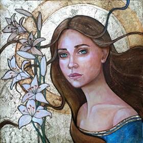 Obraz do salonu artysty Joanna Misztal pod tytułem Niepokalana