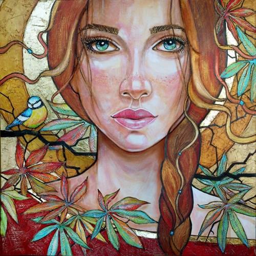 Obraz do salonu artysty Joanna Misztal pod tytułem Jesienna melancholia