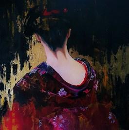 Obraz do salonu artysty Patrycja Kruszynska-Mikulska pod tytułem Maiko