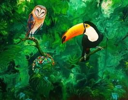 Obraz do salonu artysty Patrycja Kruszynska-Mikulska pod tytułem Sytuacja kontrolowana