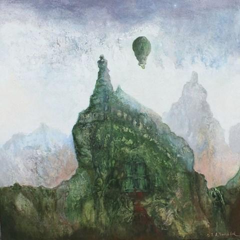 Obraz do salonu artysty Stanisław Tomalak pod tytułem Fragment 609