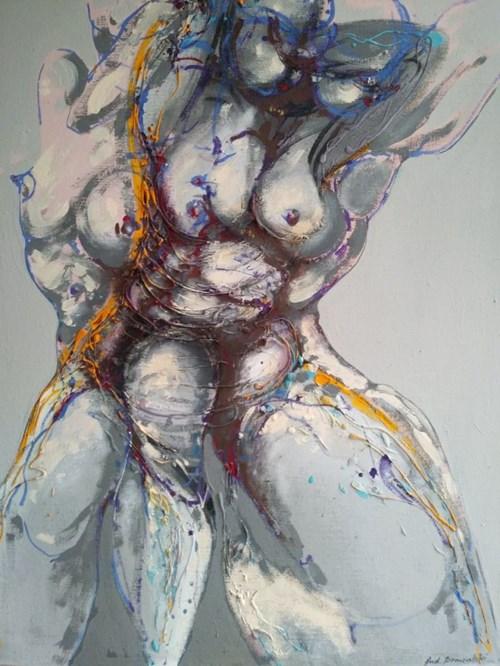 Obraz do salonu artysty Andrzej Domżalski pod tytułem Piruet