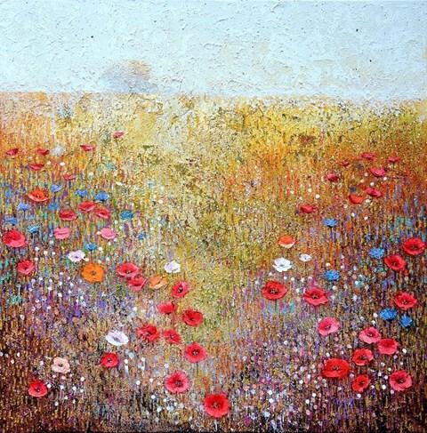 Obraz do salonu artysty Alicja Kappa pod tytułem Zapach wiosny