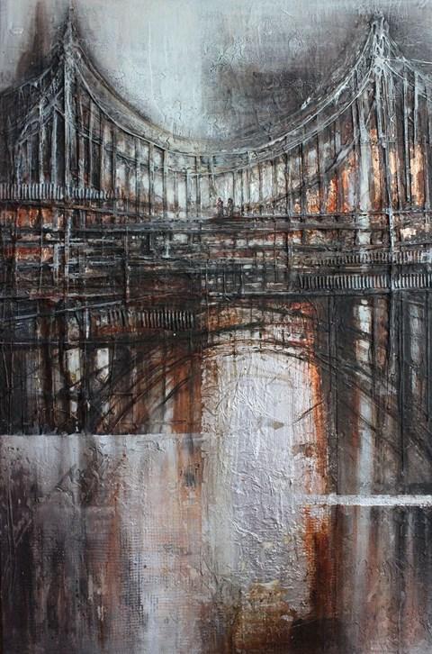 Obraz do salonu artysty Kamila Karst pod tytułem Most Westchnień