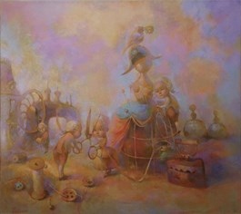Obraz do salonu artysty Olga Pelipas pod tytułem Krawcy
