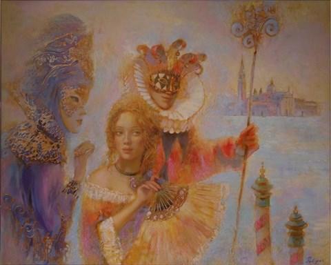 Obraz do salonu artysty Olga Pelipas pod tytułem Venice