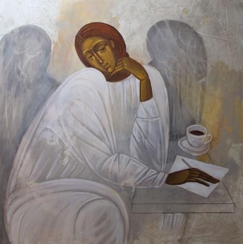 Obraz do salonu artysty Sylwia Perczak pod tytułem List