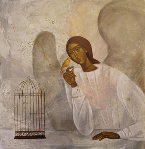 Obraz do salonu artysty Sylwia Perczak pod tytułem Leć