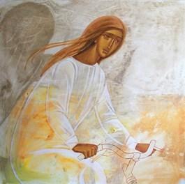 Obraz do salonu artysty Sylwia Perczak pod tytułem Z wiatrem