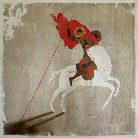 Obraz do salonu artysty Sylwia Perczak pod tytułem VS