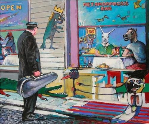 Obraz do salonu artysty Piotr Rembieliński pod tytułem Metamorfozy