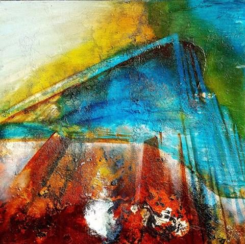 Obraz do salonu artysty Aneta Barglik pod tytułem Teotihuacan