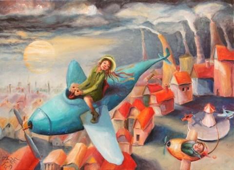 Obraz do salonu artysty Iwona Duda pod tytułem Freedom