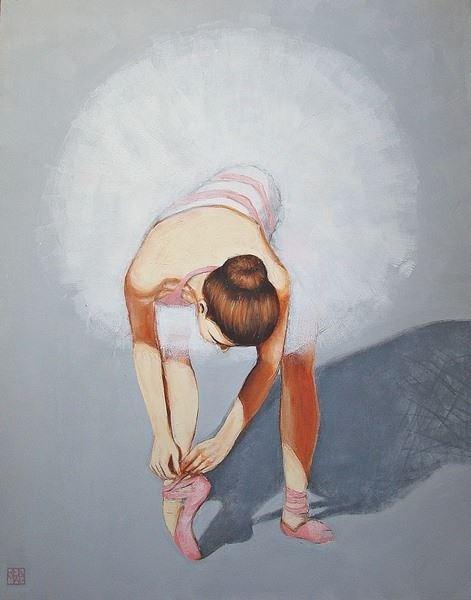 Obraz do salonu artysty Renata Magda pod tytułem Kontemplacja