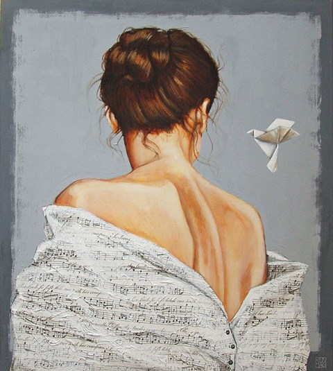 Obraz do salonu artysty Renata Magda pod tytułem Lekkość bytu
