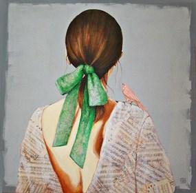 Obraz do salonu artysty Renata Magda pod tytułem Zapukał do uśmiechu