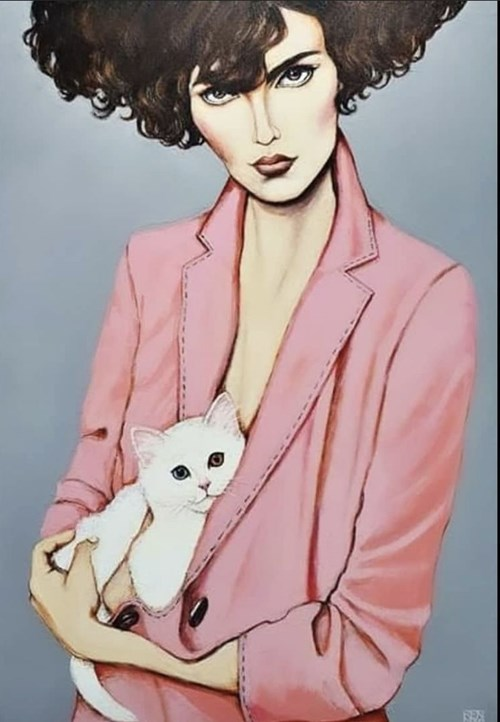 Obraz do salonu artysty Renata Magda pod tytułem White Love