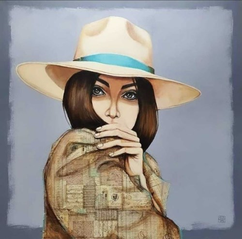 Obraz do salonu artysty Renata Magda pod tytułem Lady X