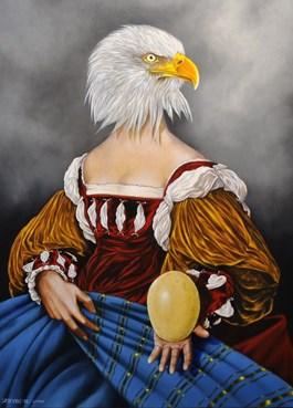Obraz do salonu artysty Mariusz Zdybał pod tytułem To be or not to be