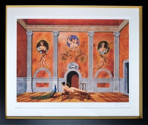 Grafika do salonu artysty Rafał Olbiński pod tytułem Don Giovanni (1/XX)