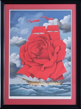 Red Rose Ship (122/350)