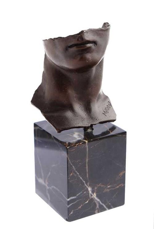 Rzeźba do salonu artysty Igor Mitoraj pod tytułem Portret męski (734/1000)