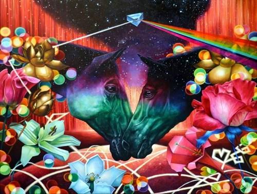 Obraz do salonu artysty Agnieszka Osak pod tytułem Magic