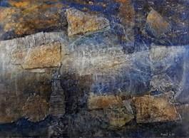Obraz do salonu artysty Krzysztof Kopeć pod tytułem Gwiaździsta noc