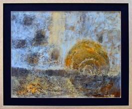Obraz do salonu artysty Krzysztof Kopeć pod tytułem Ganesha
