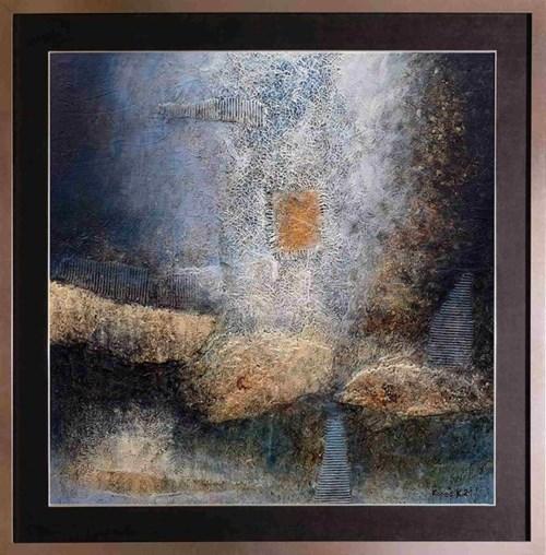 Obraz do salonu artysty Krzysztof Kopeć pod tytułem Kamienie przeżycia