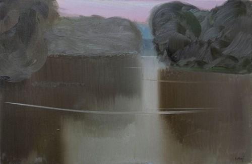 Obraz do salonu artysty Stanisław Baj pod tytułem Rzeka Bug